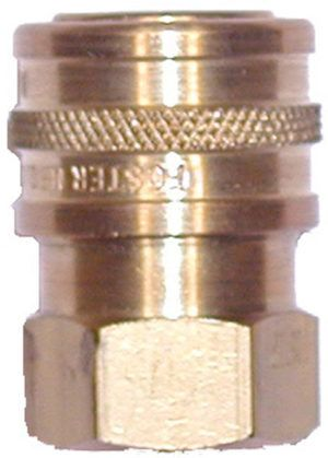 "Brass quick connect socket-1/4""Fx1/4""FPT"