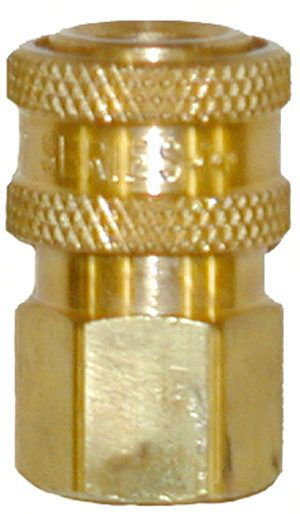 "Brass quick connect socket-1/2""Fx1/2""FPT"
