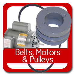 Belts, Motors & Pulleys