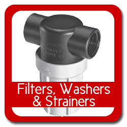 Filters, Washers and Strainers
