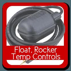 Float, Rocker Temperature Controls