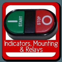 Indicators, Mounting, Relays